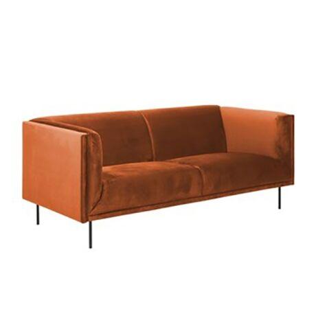 Nevada 3 személyes kanapé Réz szövet