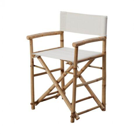 Ebba kerti szék, barna fa