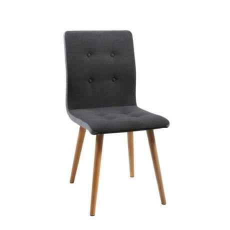 Frida szék, sötétszürke szövet