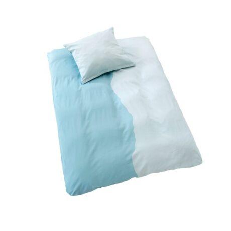You and me ágynemű huzat kék pamut bársony