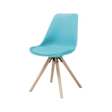 Hammel szék, kék műanyag