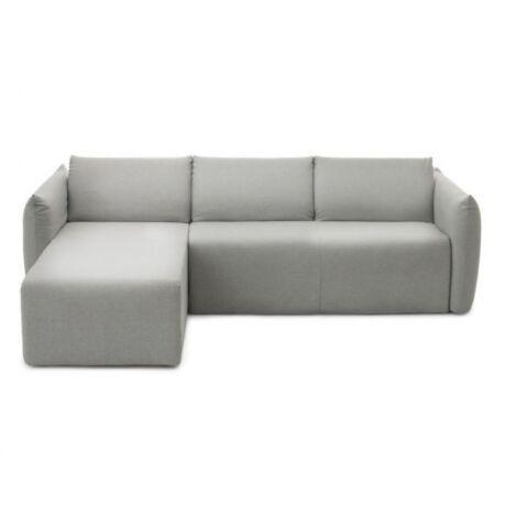 Luna kanapéágy ottománnal Aqua clean szövet