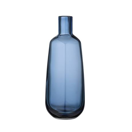Kék üveg váza, kék üveg