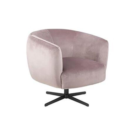 Auburn fotel rózsaszín bársony