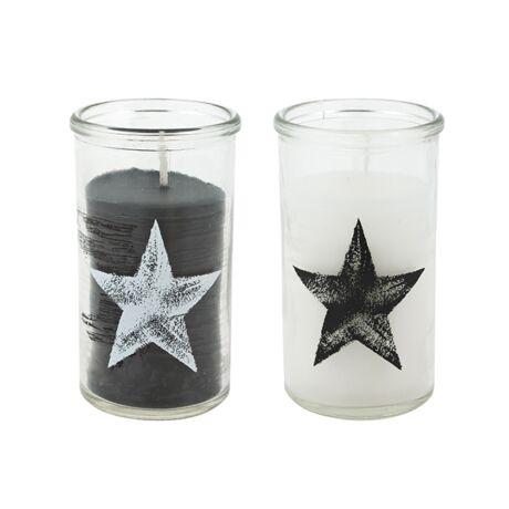 Gyertya Waldport, üveg