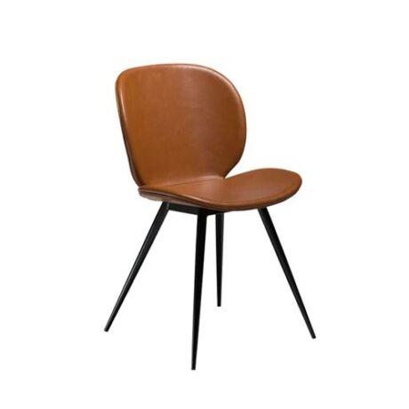 Cloud szék, barna textilbőr