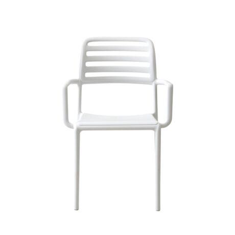 Costa szék, fehér műanyag