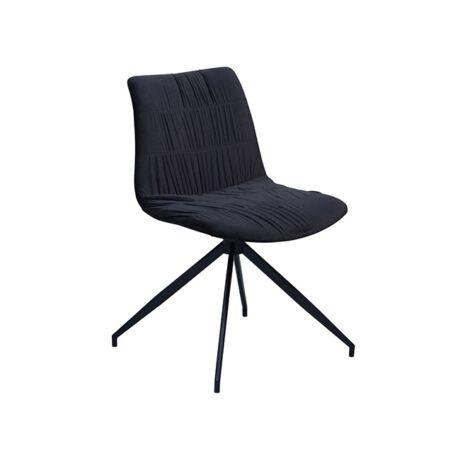 Dazz szék, fekete bársony