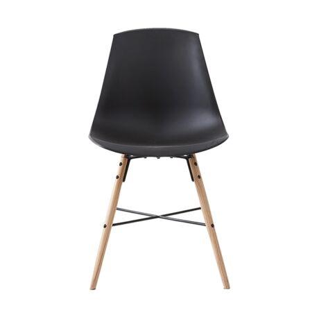 Jila szék, fekete műanyag