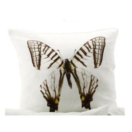 Butterfly 3. díszpárna, fekete/fehér