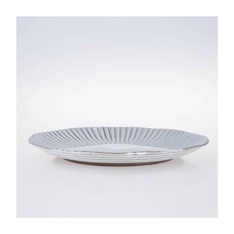 Birch desszertes tányér, fehér kerámia