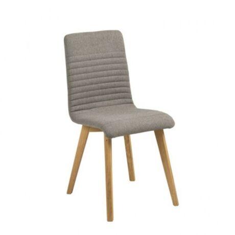 Arosa szék, világosszürke szövet