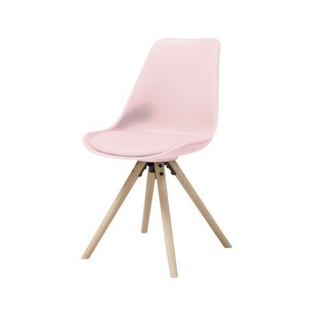 Hammel szék, rózsaszín műanyag