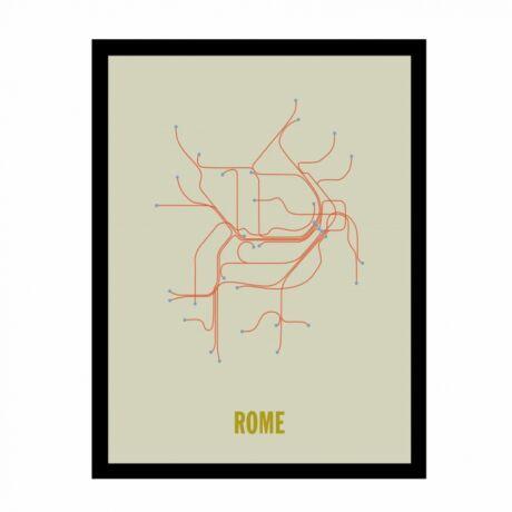 Róma tér kép,  50x70 cm