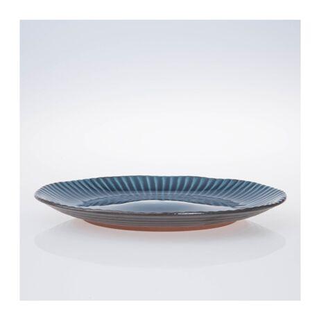 Birch desszertes tányér, kék kerámia
