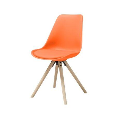 Hammel szék, sárga műanyag
