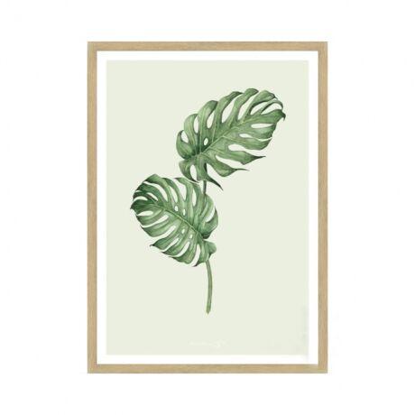 07838f3e150c IDdesign Filodendron levelek kép, 50x70cm, Képek, festmények ...