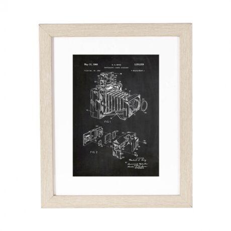 Szabadalom Fényezőgép kép,  20x25 cm