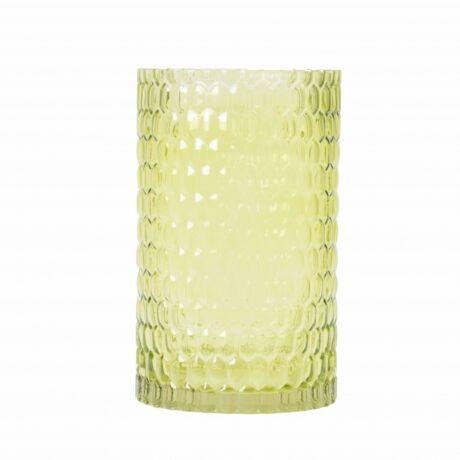 Gine üvegpohár, világoszöld üveg