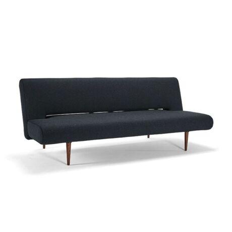 Unfurl kanapéágy Fekete szövet