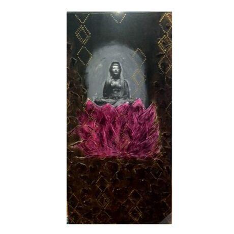 Buddha 6 Line B kép,  69x139 cm