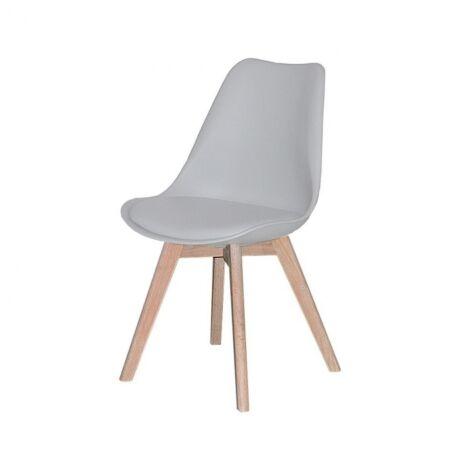 Jerry szék, szürke műanyag