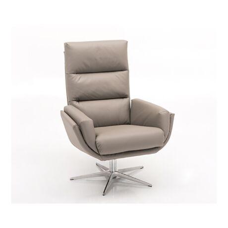 1440 fotel világosszürke bőr