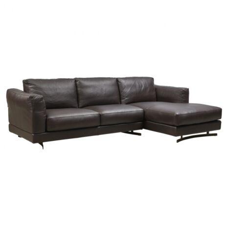 Bramante kanapé Sötétbarna bőr
