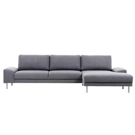Badia 3,5 üléses kanapé jobbos Világosszürke szövet