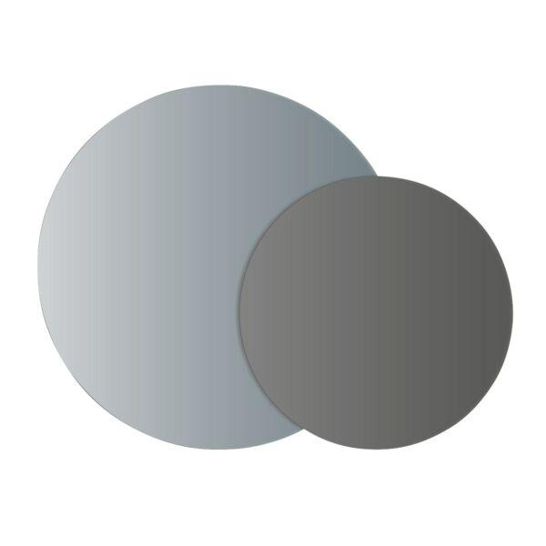Wave tükör, dupla, ezüst/füst