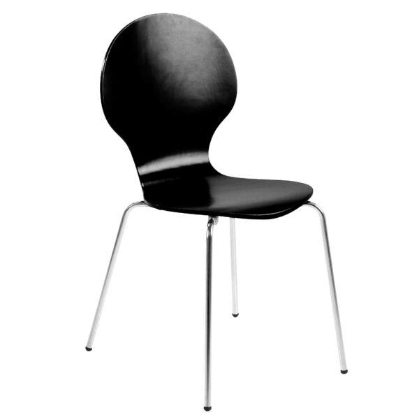 Marcus design szék, fekete fa