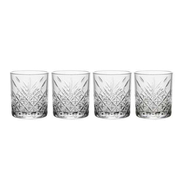 Timeless whisheys pohár, 4-es szett