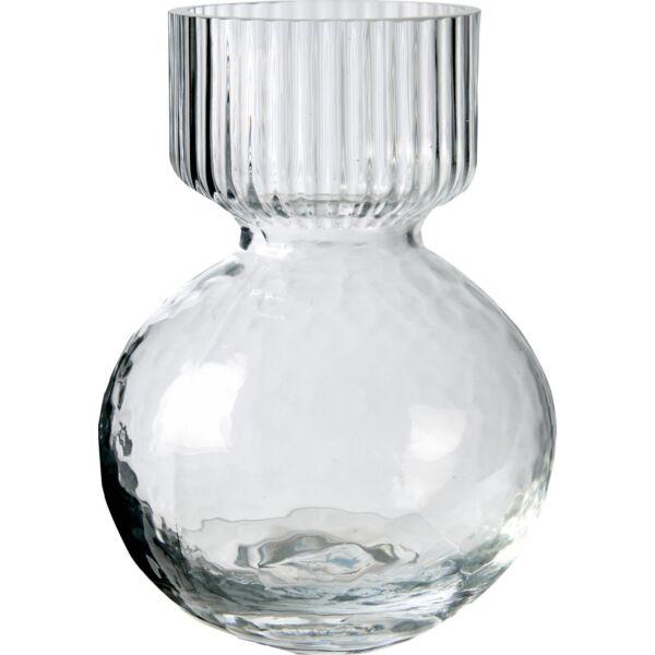 Lica váza, üveg, D12 cm