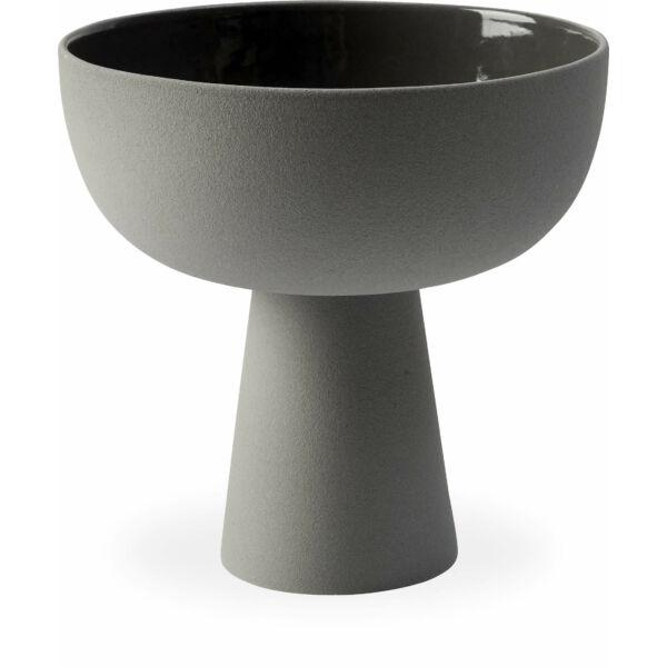 Bobbie dekorációs tál, sötét szürke, D26,5 cm