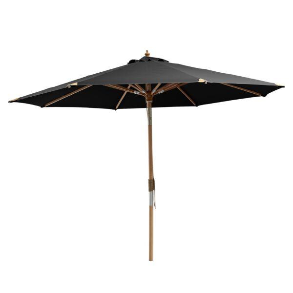 Paris napernyő, fekete, D300 cm