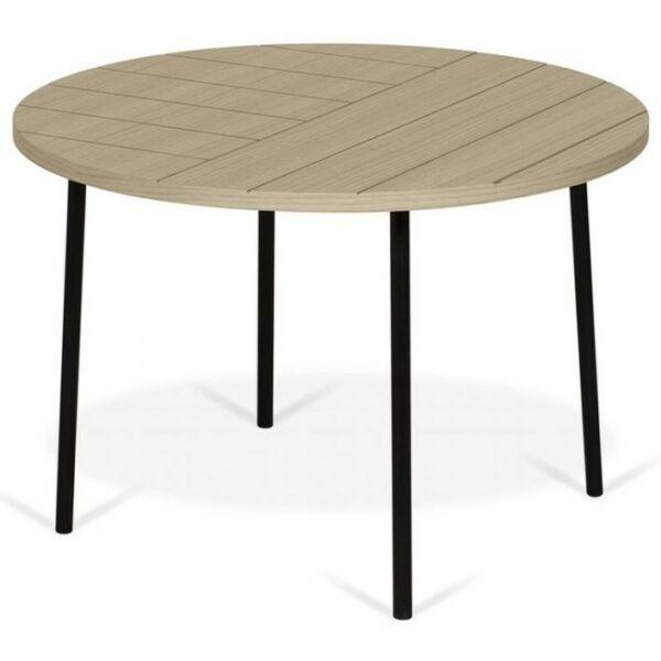 Ply dohányzóasztal, tölgy, D70 cm