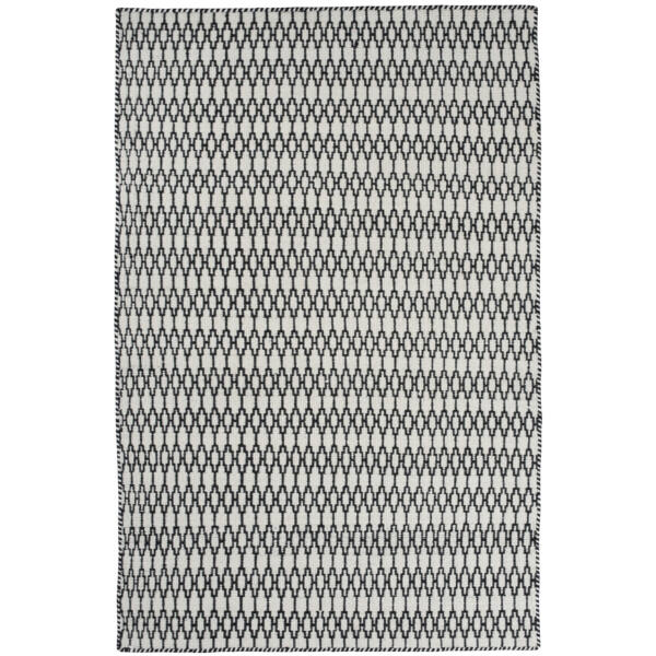 Elliot szőnyeg fekete-fehér, 140x200cm
