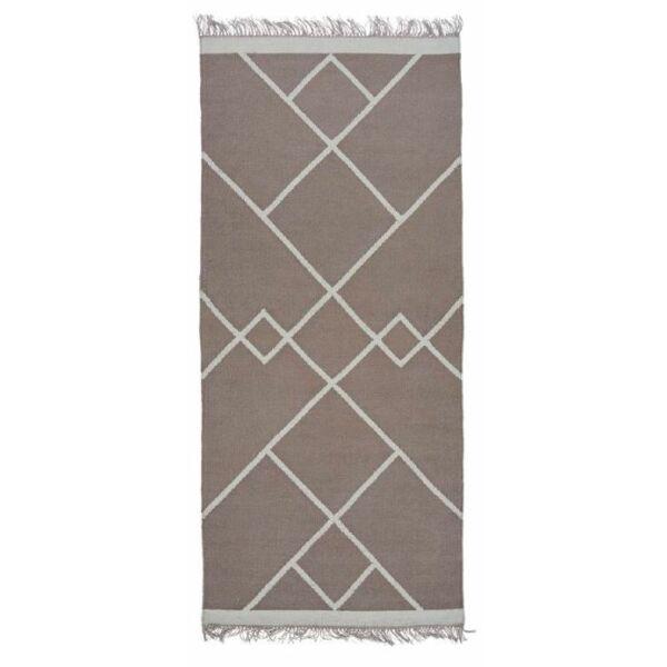 Smilla szőnyeg szürke, 80x180cm