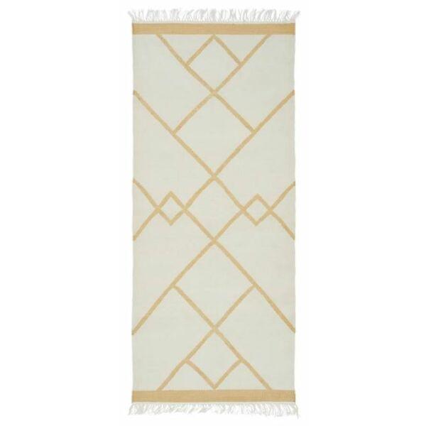 Smilla szőnyeg fehér, 80x180cm
