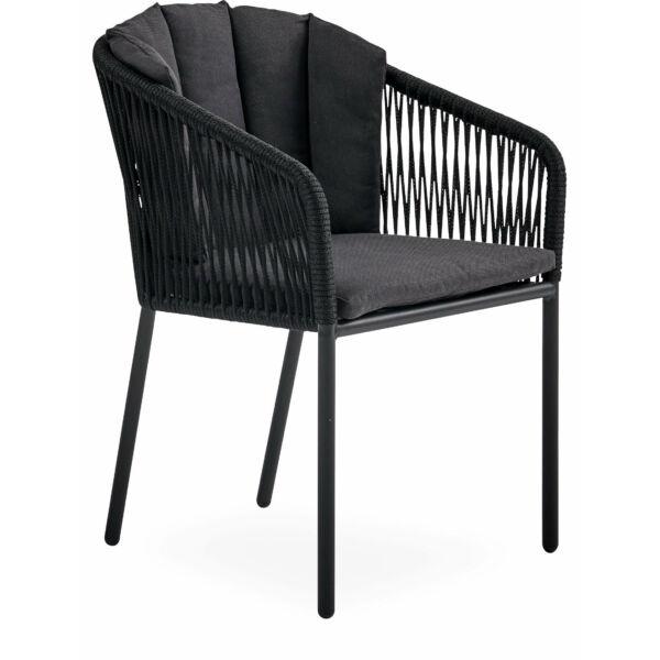 Ella kerti szék, fekete, kifutó!