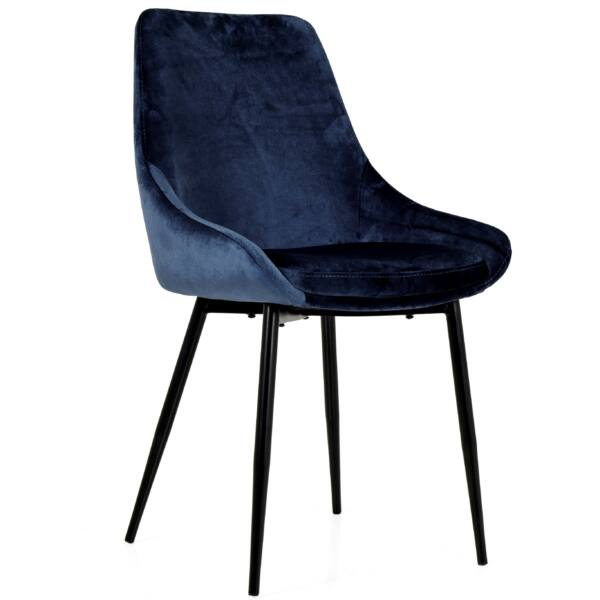 Lex design szék, midnight velúr