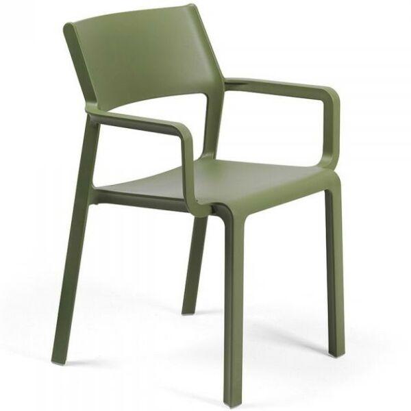 Trill karfás szék Agave