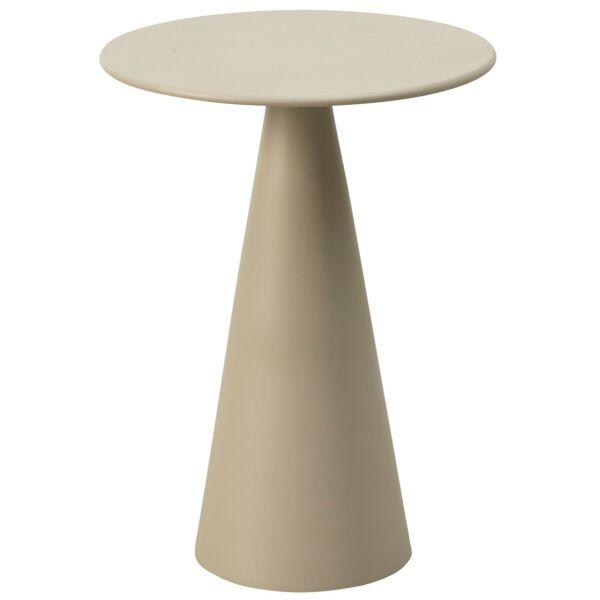 Float lerakóasztal, világosszürke, D38 cm