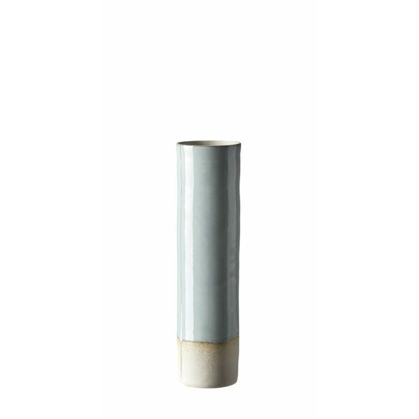 Cobro váza, fehér, H34cm