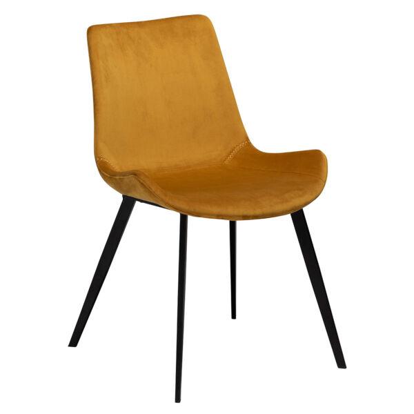 Hype design szék, bronz bársony