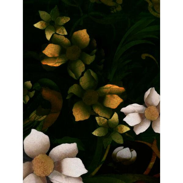 Baroque Bouquet metal print kép, 90x120cm