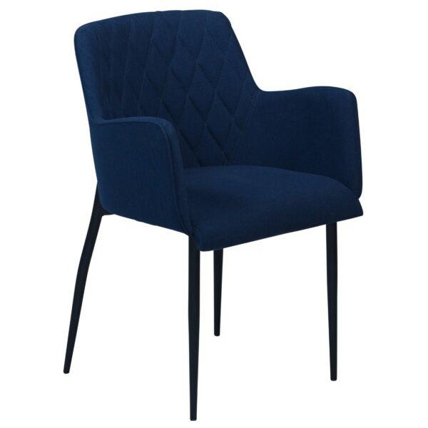 Rombo design szék, sötétkék