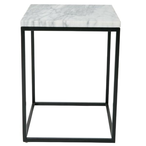 Marble Power lerakóasztal, fehér márvány