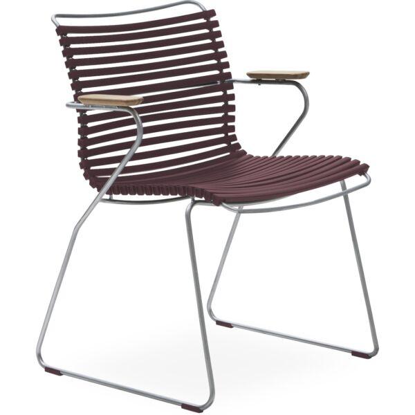 Click szék, bordó