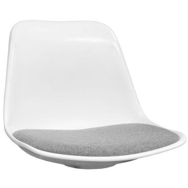 Grace ülőlap, fehér/szürke